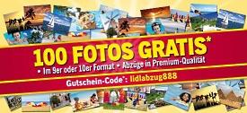 lidl-fotos.de: 100 Fotoabzüge gratis